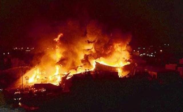 Toàn cảnh 1000 người sơ tán hoảng loạn trong biển lửa ở Mecca - anh 2