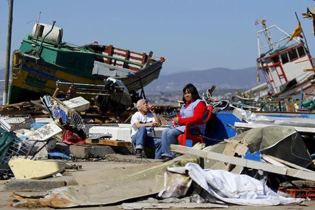 Cảnh báo: Sóng thần 1m 'tấn công' Nhật Bản sau động đất ở Chile - anh 2