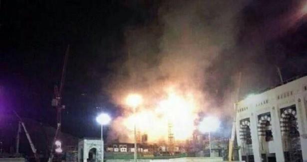 Toàn cảnh 1000 người sơ tán hoảng loạn trong biển lửa ở Mecca - anh 3