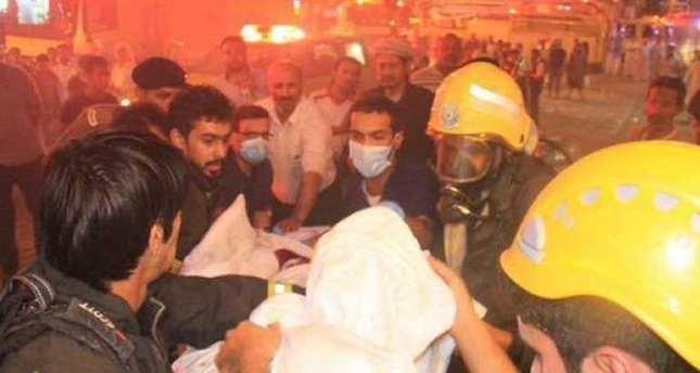 Toàn cảnh 1000 người sơ tán hoảng loạn trong biển lửa ở Mecca - anh 4
