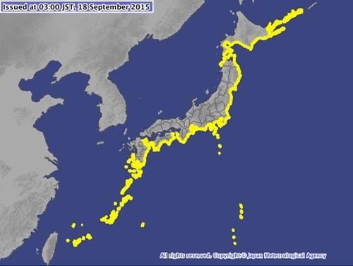 Cảnh báo: Sóng thần 1m 'tấn công' Nhật Bản sau động đất ở Chile - anh 1