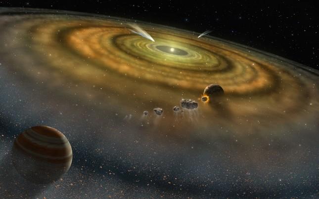 Tạo dựng mô hình Hệ Mặt trời đầu tiên trên thế giới - anh 1