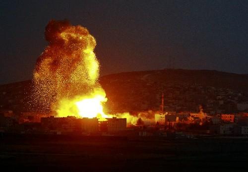 Mỹ không kích dữ dội, tiêu diệt chỉ huy cấp cao của IS - anh 2