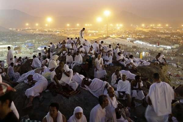 Giẫm đạp gần Thánh địa Mecca, gần 800 người thương vong - anh 2
