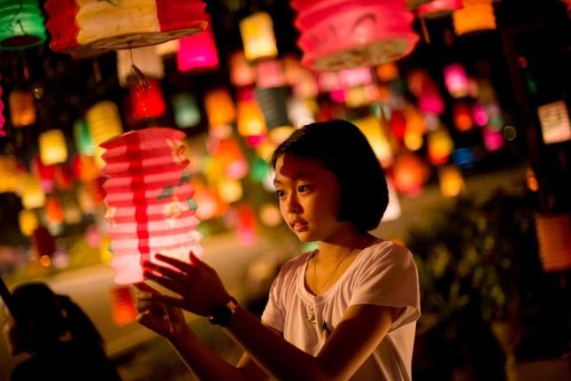 Châu Á rực rỡ sắc đèn trong đêm hội Trung thu - anh 9