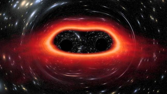 Phát hiện: Siêu Lỗ đen lớn gấp 350 triệu lần Mặt trời - anh 1