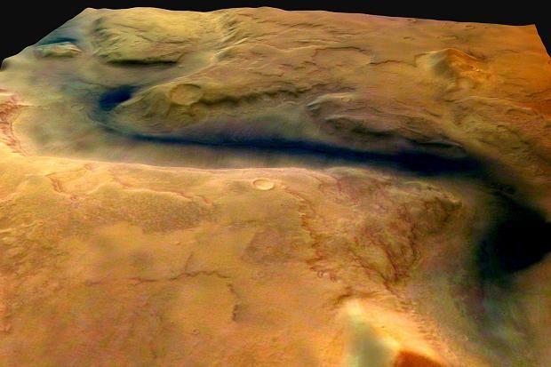 NASA chính thức công bố có nước dạng lỏng trên sao Hỏa - anh 1