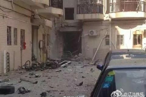 Hiện trường nát vụn sau vụ nổ bom liên hoàn ở Trung Quốc - anh 5