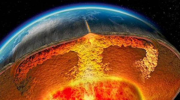 Phát hiện dạng vật chất kì lạ trong lòng Trái Đất - anh 1