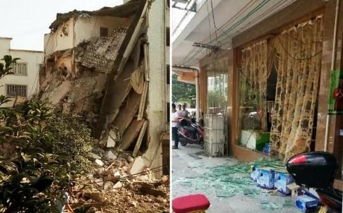 Hiện trường nát vụn sau vụ nổ bom liên hoàn ở Trung Quốc - anh 9
