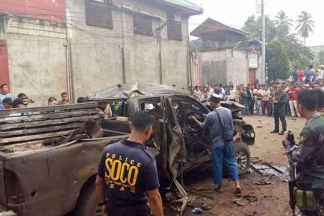 Đánh bom liên tiếp ở Philippines, gần 30 người thương vong - anh 1
