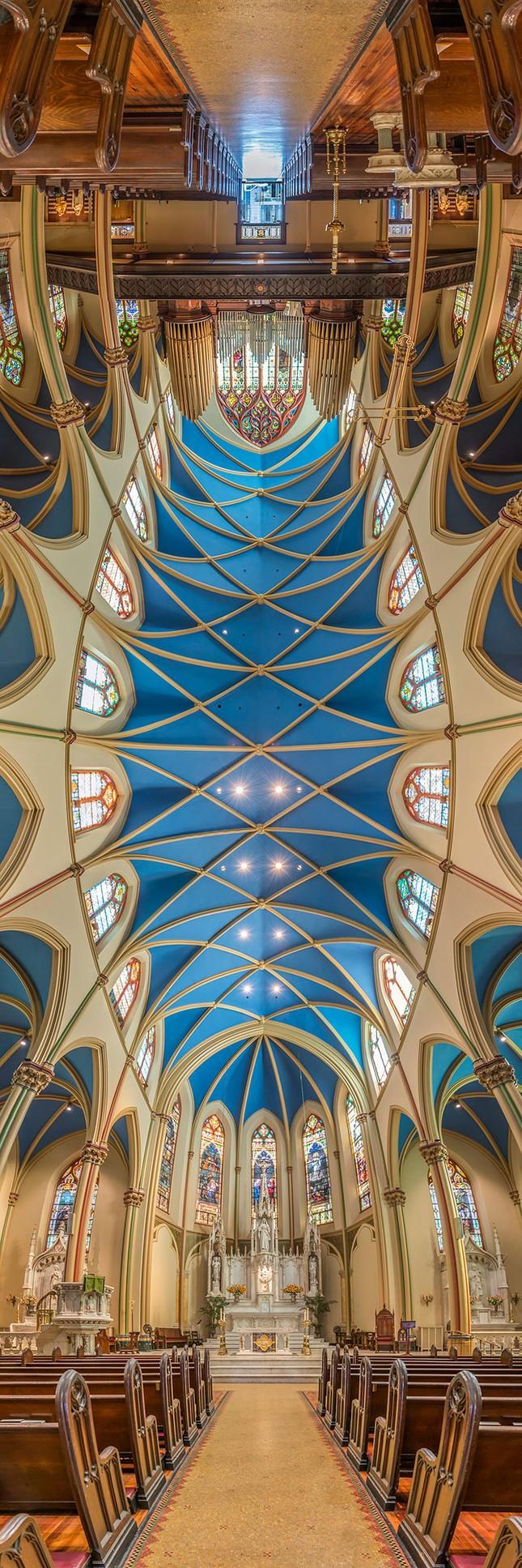 Vẻ đẹp ngỡ ngàng của những thánh đường tại New York, Mỹ - anh 5
