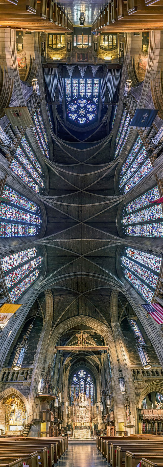 Vẻ đẹp ngỡ ngàng của những thánh đường tại New York, Mỹ - anh 7