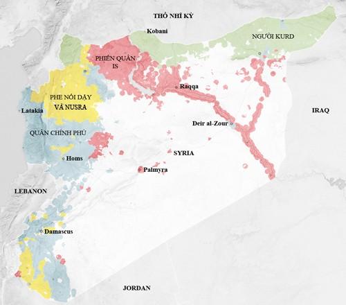 Cùng không kích IS, Nga - Mỹ nguy cơ đụng độ ở Syria - anh 3