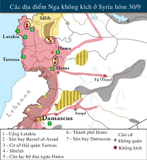 Cùng không kích IS, Nga - Mỹ nguy cơ đụng độ ở Syria - anh 2