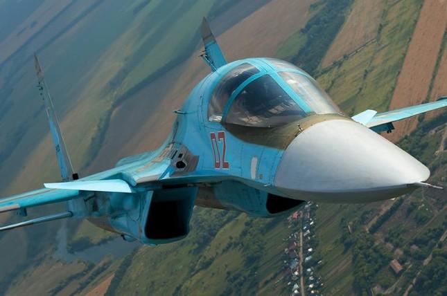 Dàn tiêm kích khủng Nga dùng 'xóa sổ' IS - anh 1