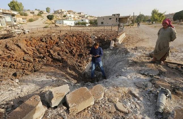 Thế trận áp đảo của Nga sau 5 ngày không kích IS dữ dội - anh 2