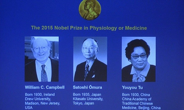 Danh sách các nhà khoa học đoạt Giải Nobel Y học 2015 - anh 1
