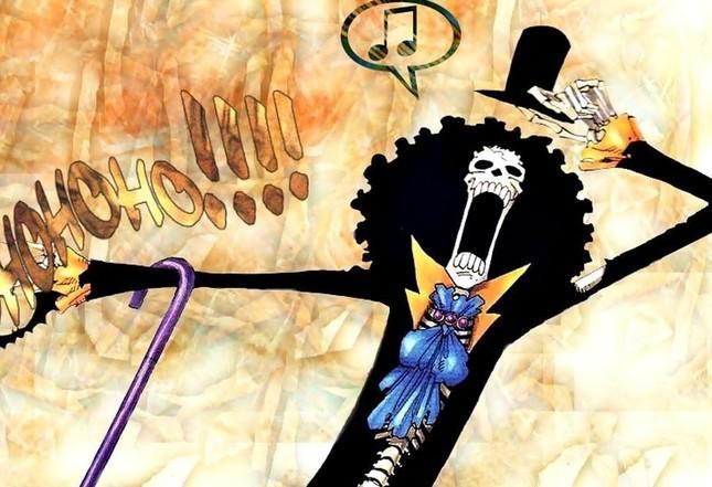 [One Piece] Những hình ảnh đẹp nhất của Nhạc công Brook - anh 1