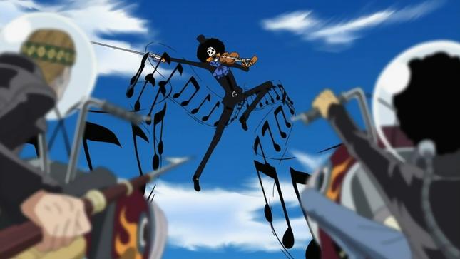 [One Piece] Những hình ảnh đẹp nhất của Nhạc công Brook - anh 8