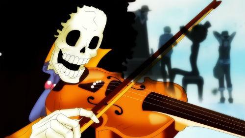 [One Piece] Những hình ảnh đẹp nhất của Nhạc công Brook - anh 14