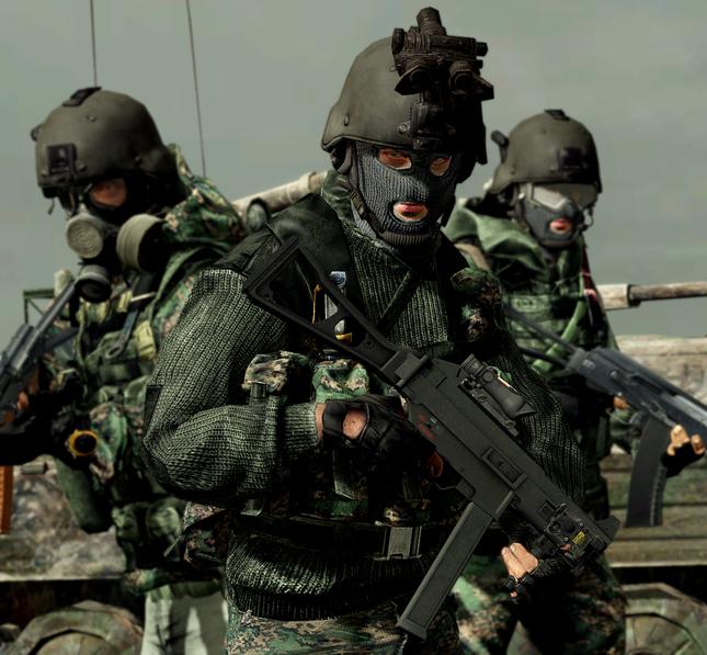 Uy lực đáng sợ của đội đặc nhiệm Spetsnaz Nga điều đến Syria - anh 1