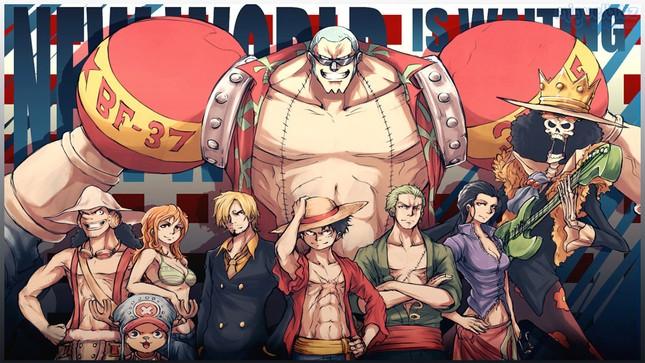 [One Piece] Những hình ảnh đẹp nhất của Thợ đóng thuyền siêu đẳng Franky - anh 6