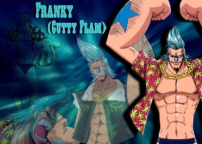 [One Piece] Những hình ảnh đẹp nhất của Thợ đóng thuyền siêu đẳng Franky - anh 1