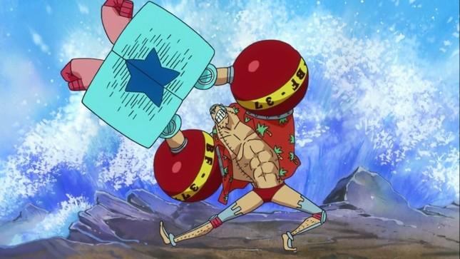 [One Piece] Những hình ảnh đẹp nhất của Thợ đóng thuyền siêu đẳng Franky - anh 13