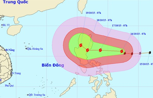 Tin bão mới nhất: Bão Koppu sẽ đổ bộ Philippines đêm nay (17/10) - anh 1