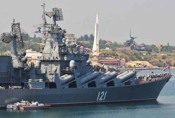 Chiến hạm Nga có thể diệt mọi mục tiêu IS từ Địa Trung Hải - anh 1