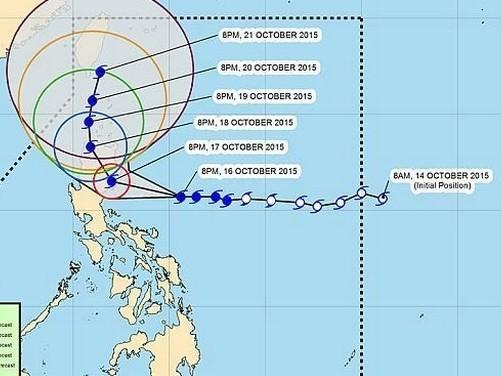 Tin bão mới nhất: Bão Koppu sẽ đổ bộ Philippines đêm nay (17/10) - anh 2
