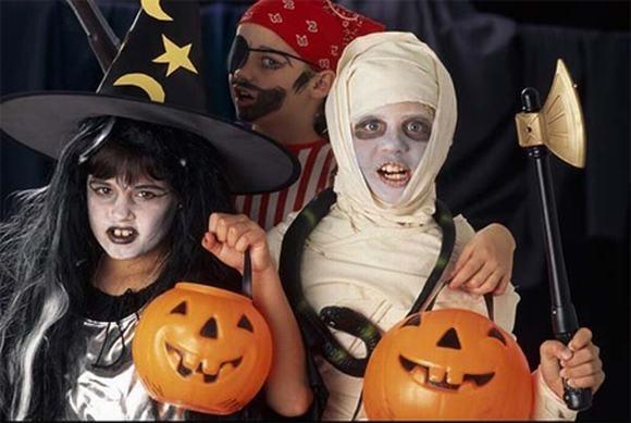 Muôn cách hóa trang Halloween đầy kinh dị trên thế giới - anh 4