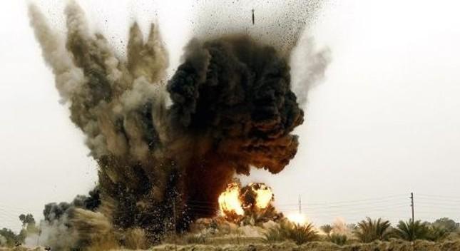 Tiêm kích 'ẩn danh' tiêu diệt 40 tay súng IS - anh 1