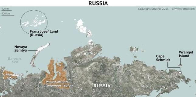 Bộ Quốc phòng Nga tiết lộ khu căn cứ quân sự khổng lồ tại Bắc Cực - anh 1