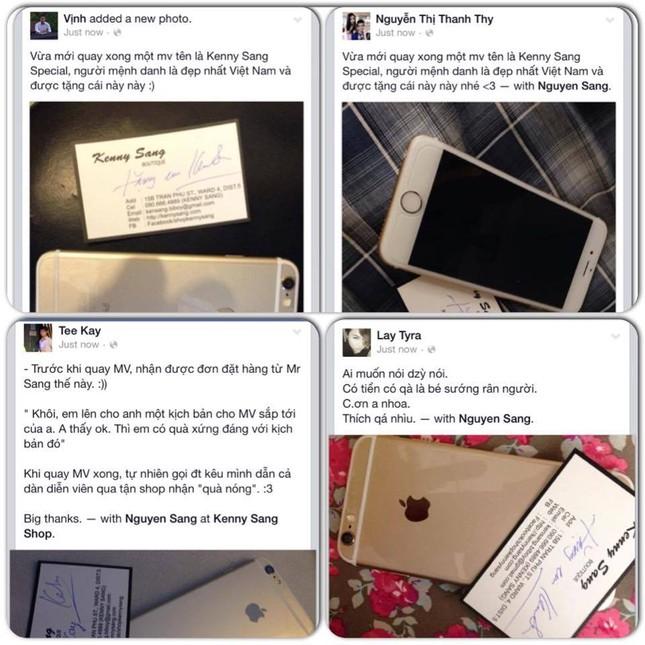 Kenny Sang tặng 16 iPhone Gold 128G cho ê - kíp - anh 3