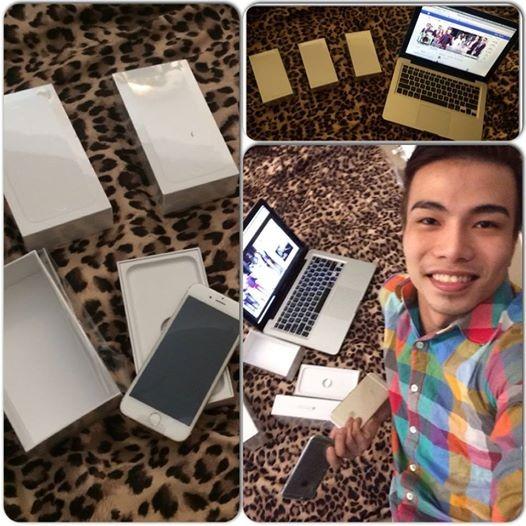 Kenny Sang tặng 16 iPhone Gold 128G cho ê - kíp - anh 2