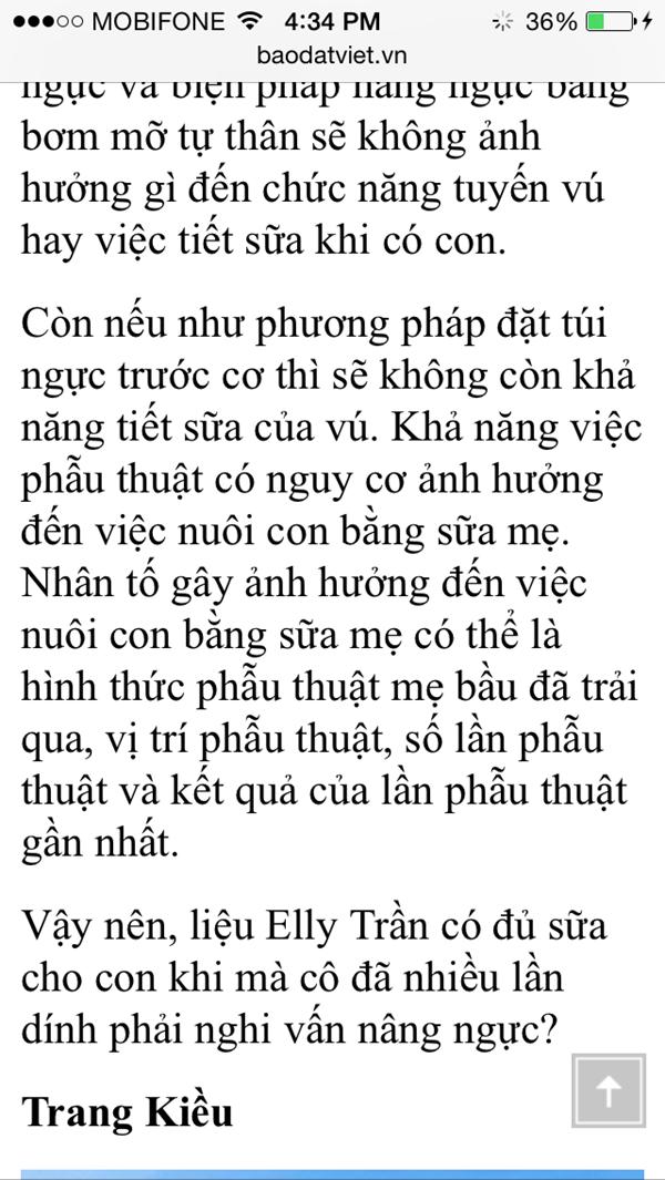 Elly Trần kiện báo Đất Việt - anh 1