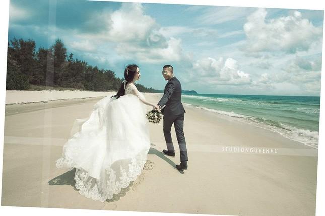 Hé lộ ảnh cưới đầu tiên của Quỳnh Nga - Doãn Tuấn - anh 1