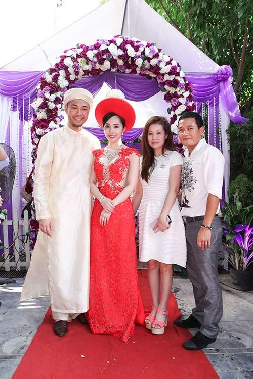 Hé lộ ảnh cưới đầu tiên của Quỳnh Nga - Doãn Tuấn - anh 3