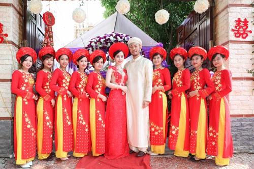 Hé lộ ảnh cưới đầu tiên của Quỳnh Nga - Doãn Tuấn - anh 4