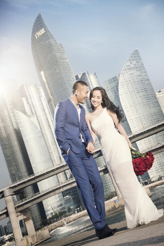 Ảnh cưới Quỳnh Nga - Doãn Tuấn chụp ở Hàn Quốc gây sốt - anh 15