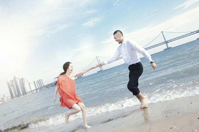 Ảnh cưới Quỳnh Nga - Doãn Tuấn chụp ở Hàn Quốc gây sốt - anh 3