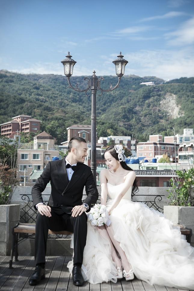 Ảnh cưới Quỳnh Nga - Doãn Tuấn chụp ở Hàn Quốc gây sốt - anh 8
