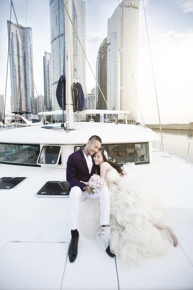 Ảnh cưới Quỳnh Nga - Doãn Tuấn chụp ở Hàn Quốc gây sốt - anh 10