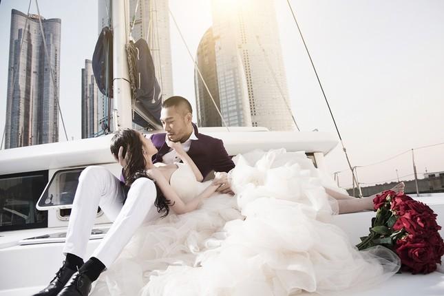 Ảnh cưới Quỳnh Nga - Doãn Tuấn chụp ở Hàn Quốc gây sốt - anh 11