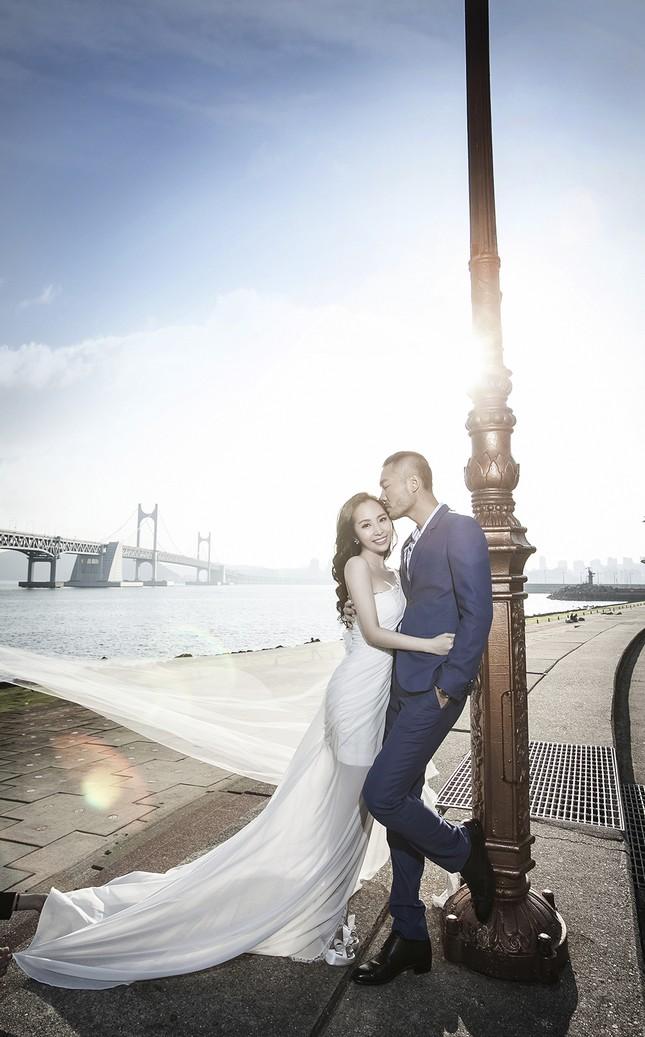 Ảnh cưới Quỳnh Nga - Doãn Tuấn chụp ở Hàn Quốc gây sốt - anh 12
