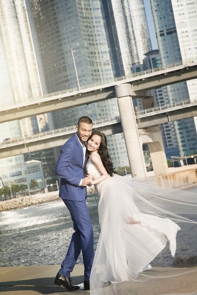 Ảnh cưới Quỳnh Nga - Doãn Tuấn chụp ở Hàn Quốc gây sốt - anh 13