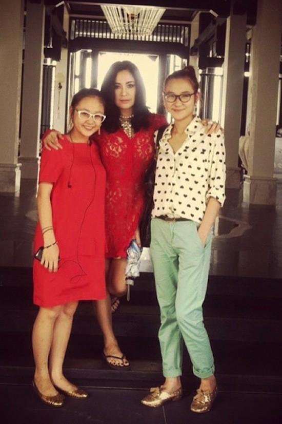 Thanh Lam vui mừng lên chức bà ngoại - anh 3
