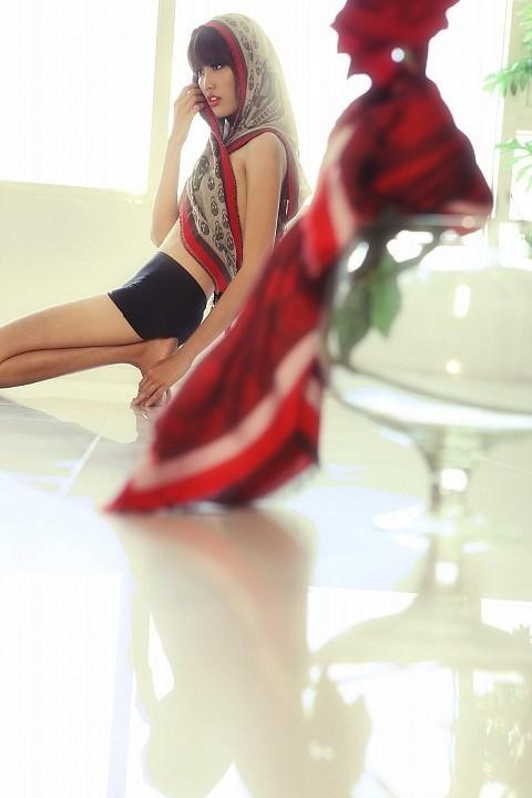Nhan sắc Lan Khuê thời chưa đăng quang Hoa khôi áo dài 2014 - anh 7